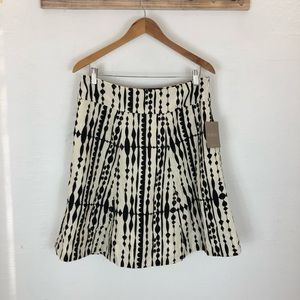 NWT Anthropologie printed corduroy skirt